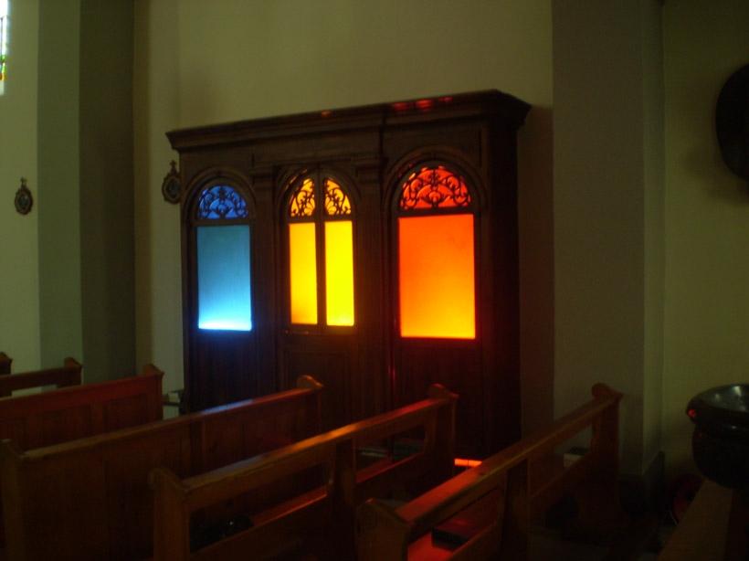 confessional de la nef