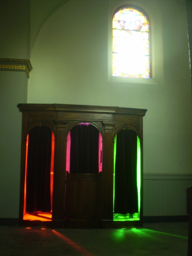 confessional latéral