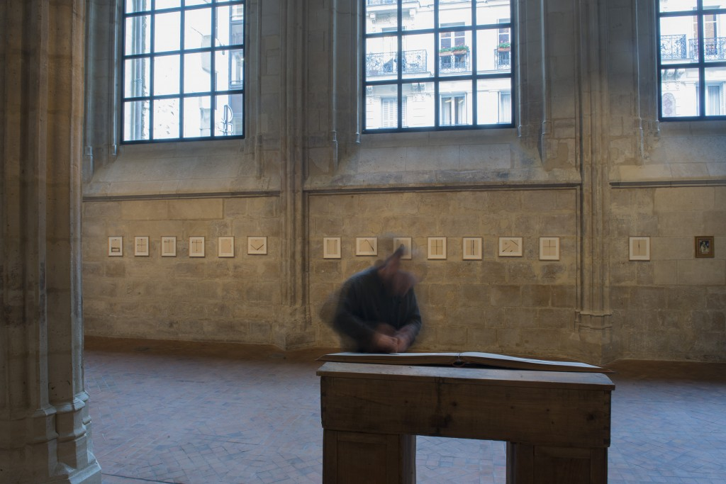exposition Paris, collège des bernardins, janvier-2mars 2019